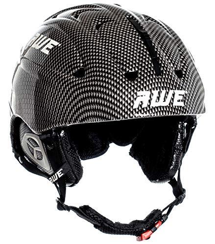 AWE® Skihelme Graphit für Erwachsene Größe 58-60cm