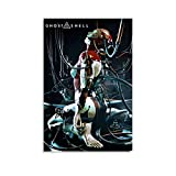 QWSDE Ghost in the Shell Anime 1 Leinwand-Kunst-Poster und
