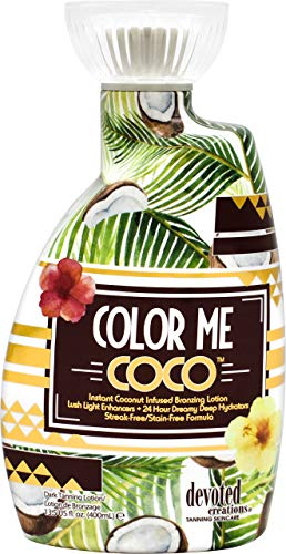 Devoted Creations Color Me Coco Bronzer Tanning Lotion 13.5 oz