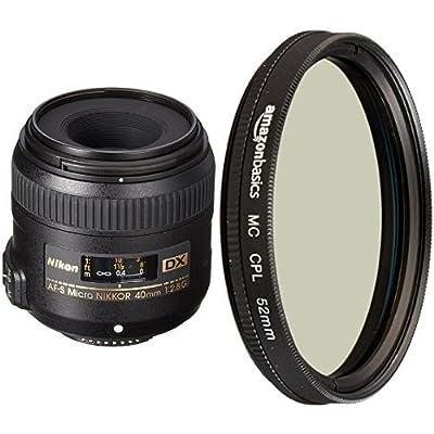 Nikon 40mm f/2.8G AF-S DX Micro NIKKOR Lens for Nikon Digital SLR Cameras