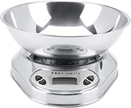 5kg/1g Precise Digital Electronic Home Kitchen Scale Food Baking Weighing Balance with Bowl Tray