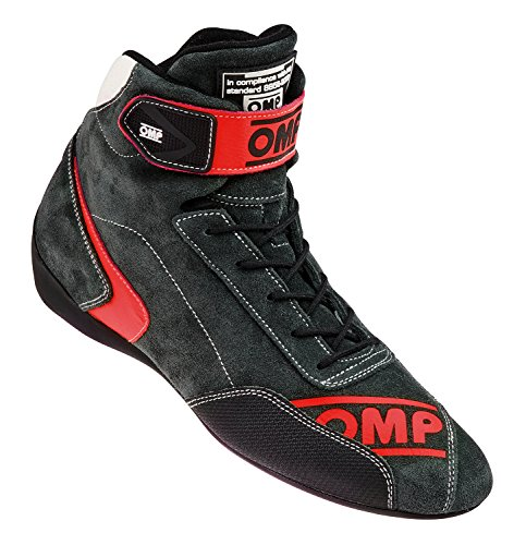 OMP OMPIC/80908645 Erste Evo Schuhe Anthrazit/Rot Größe 45