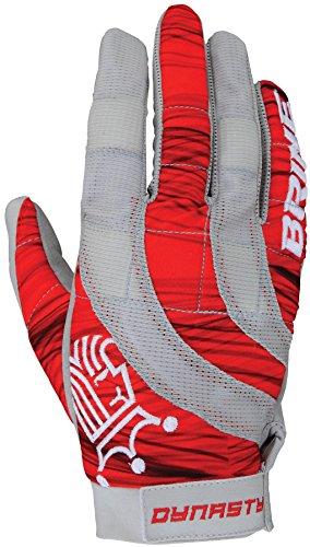 Brine Dynasty Damen Handschuhe für warmes Wetter, Netzstoff, Größe M, Rot