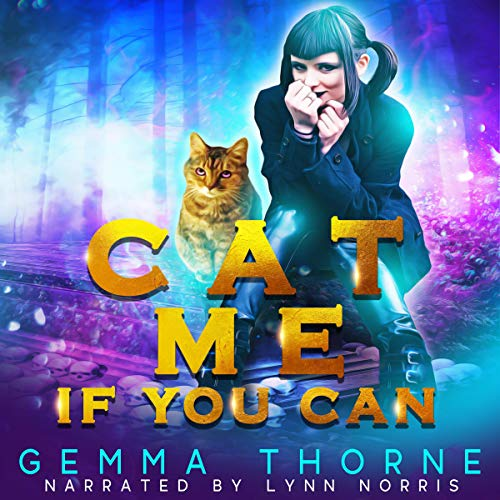 Cat Me If You Can audiobook cover art
