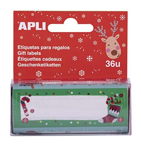 APLI Kids 17899 - Rollo regalo Navidad 36 uds.