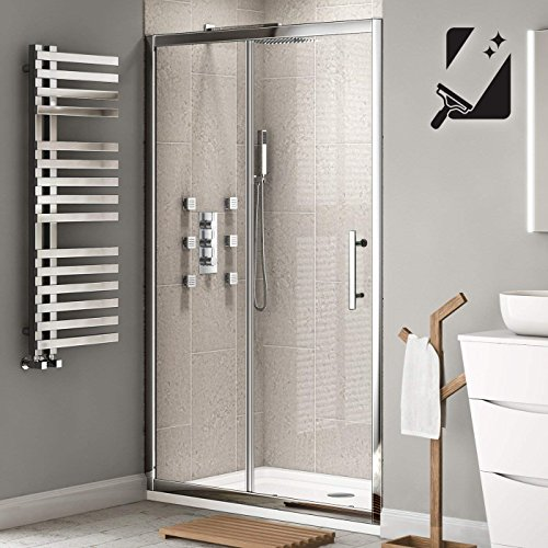 1200 X 760mm Designer Sliding Glass Door Shower Enclosure With