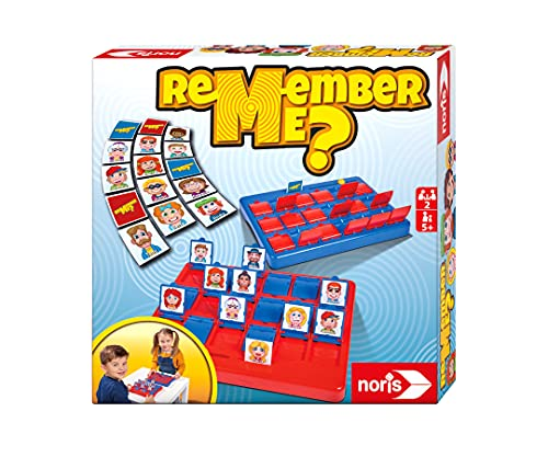 Preisvergleich Produktbild Noris 606064477 - Remember me,  das lustigste Ratespiel mit 18 verschiedenen Charakteren
