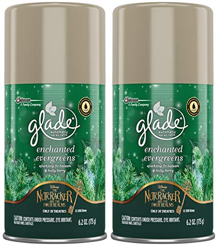 Glade 2018 Holiday Collection Enchanted Evergreens 6.2.Oz (2 Count)