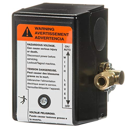 Ingersoll Rand 23474570 Pressure Switch for Two Stage Compressor