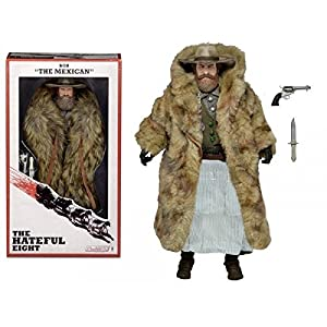 The Hateful Eight Bob The Mexican Demian Bichir 8 Action Figure by Reel Toys