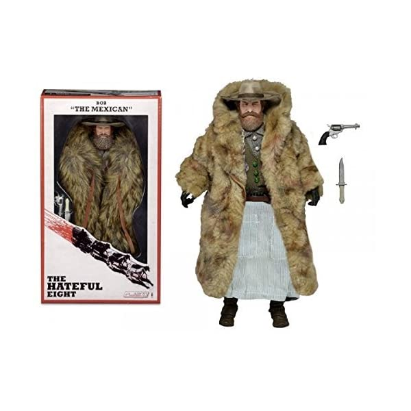 The Hateful Eight Bob The Mexican Demian Bichir 8 Action Figure by Reel Toys 1