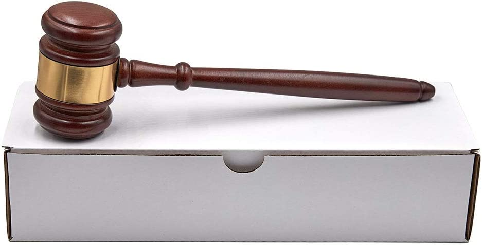 Ranking TOP3 GavelsFast 1 year warranty Wooden Gavel Gift with Box