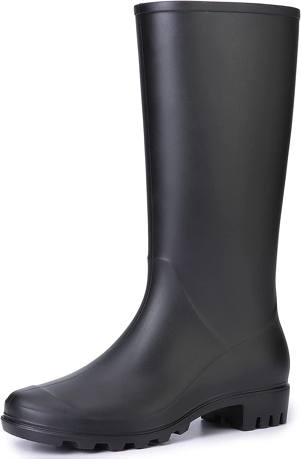 gracosy Rubber Boots for Women, Waterproof Rains Boots with Comfort Insole Garden Boots Mud Boots Anti-Slip Lightweight Fashion Outdoor and Work