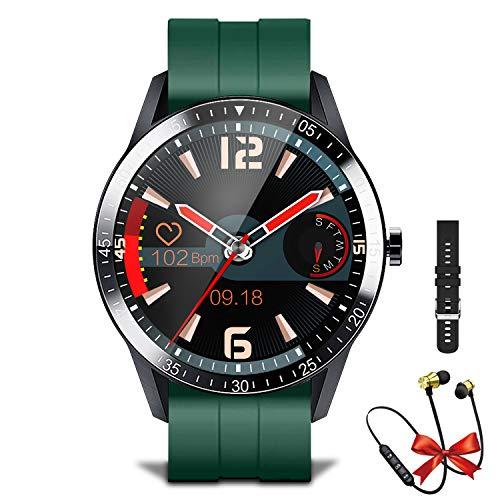 Smartwatch Fitness Tracker Fitness Armbanduhr Mit Bluetooth-Telefon, IP67 Wasserdicht Sportuhr mit Herzfrequenzmesser, Schlafmonitor, 8 Trainingsmodi, Smartwatch Herren Für IOS Android
