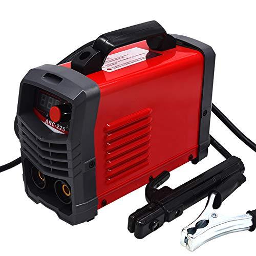 Soudeur ARC 220V Soudeur MMA Machine de soudage 200Amp Affichage numérique IGBT LCD Display Démarrage à chaud Soudeur avec support d'électrode