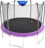 Skywalker Trampolines 12-Foot Jump N' Dunk Trampoline with Enclosure...