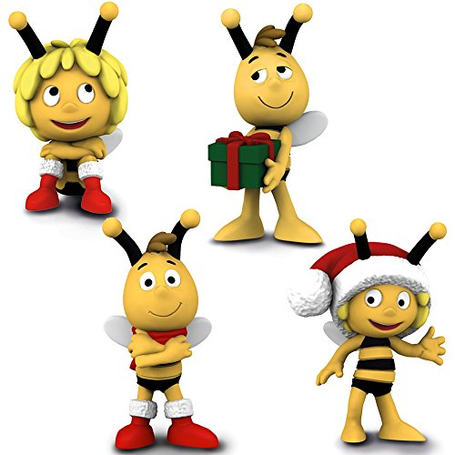 Schleich kt-20863 Biene Maja Weihnachtsset - 27007, 27008, 27009, 27010 (4 teilig)