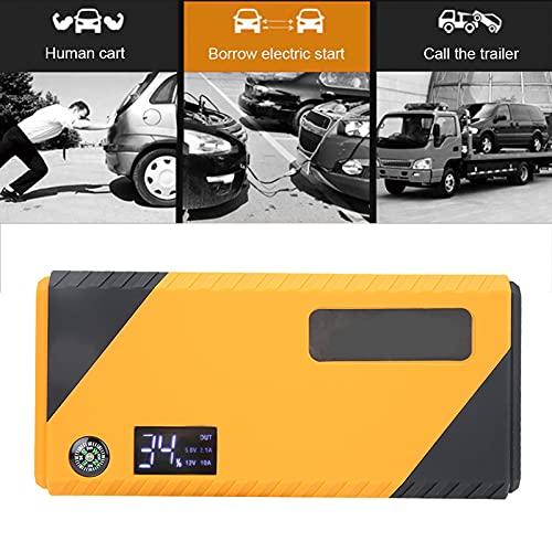 Wosune Jump Starter, Car Power Bank, Durabilidad 100% Nuevo para Todos los vehículos 12v(Transl)