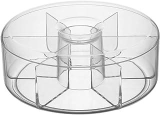 Trend'up - boite à thé en acrylique ronde 20cm