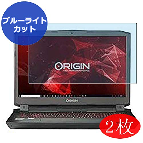 """[2 Pack] Synvy Anti Blue Light Screen Protector for Origin PC EON17-X 17.3"""" Screen Film Protective Protectors [Not Tempered Glass]"""