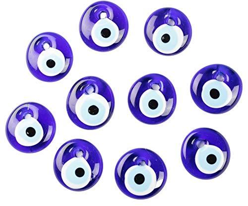 Nazar Boncuk Lot de 10 yeux turcs yeux bleus Evil Eye – Port