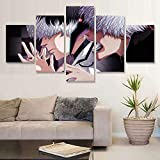 Cuadro impreso en lienzo arte de pared 5 Tokyo Ghoul RE Haise Sasaki Vs Ken Kaneki pintura módulo...
