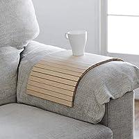 Bandeja adaptable al brazo del sofá, sillón o butaca, proporciona espacio útil para dejar la copa, taza o vaso. Mesa...