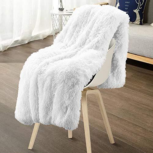 Mantas Para Sofa Decorativas De Pelo Largo mantas para sofa  Marca Lurowo
