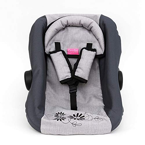 Paradise Galleries Reborn Baby Doll Accessories - Gender Neutral Doll Car Seat, 12-22' Realistic Baby Dolls