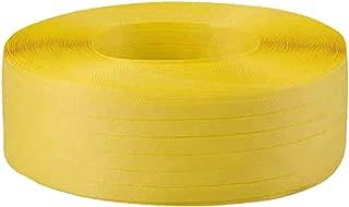 TRUSCO(トラスコ) 手締用PPバンド 15.5mm×1000m巻 黄 TPP-155-Y