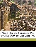 Gabe Herrn Rabbiner Dr. Nobel Zum 50. Geburtstag