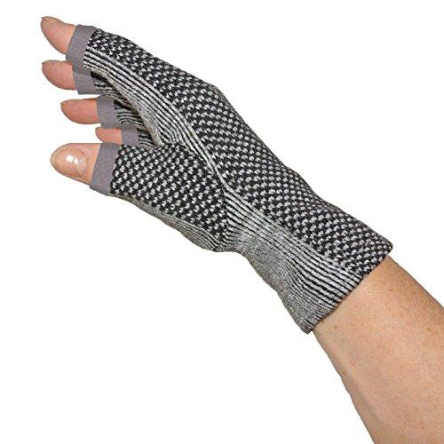 Kompression Handschuhe mit Bambu Kohle, Größe S/M fur Damen - INTHERMAX©