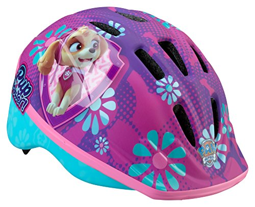 Cheapest Prices! Paw Patrol Toddler and Kids Bike Helmet, Toddler, Skye