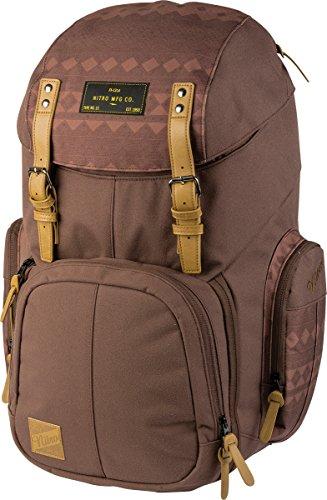 Weekender Alltagsrucksack mit gepolstertem Laptopfach, Schulrucksack, Wanderrucksack inkl. Nassfach, 42 L, Northern Patch