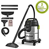AUTLEAD Wet and Dry Vacuum Cleaner, 1000W 20L Vacuum Cleaner with Silencer, 3-in-1 Multifunction...