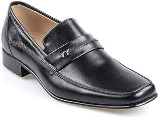 Tek Yıldız 999 Erkek Hakiki Deri Siyah Klasik Ayakkabı