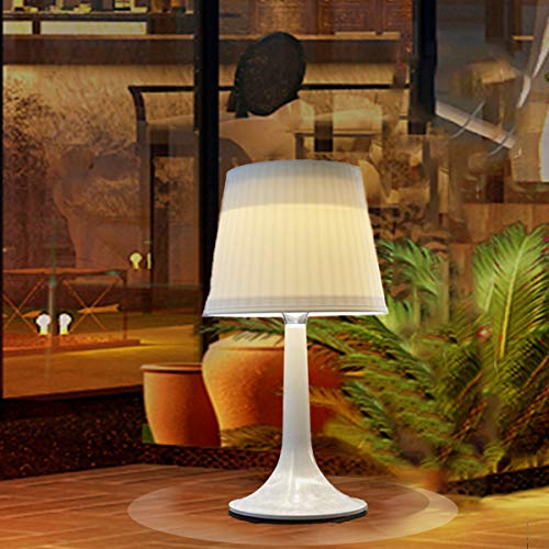 Solar Table Lamp Outdoor Indoor for Living Room Bedroom...