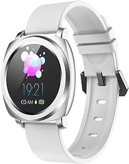 DLIBIG Pulsera de Actividad Smartwatch,Pulsómetro Monitor de Sueño Recordatorio Fisiológico Femenino Contador de Pasos,para Android y iOS