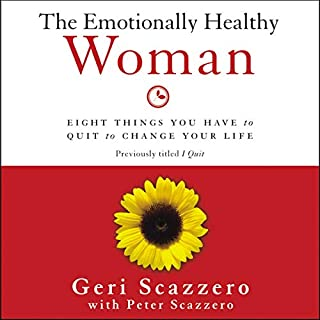 The Emotionally Healthy Woman audiobook cover art