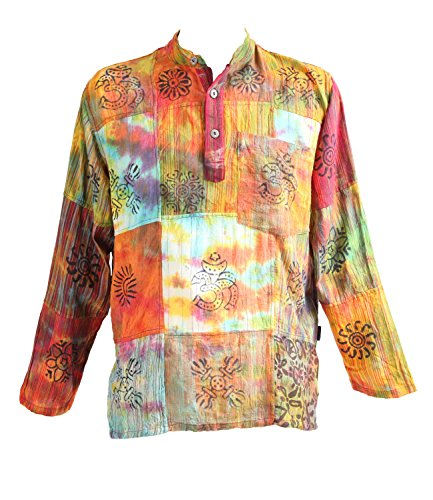 Yellow Black Purple The Hippy Clothing Co Green - Salopette Fille Multicolore Orange Red