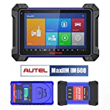 Autel MaxiIM IM608 Key Programming Diagnostic Tool with XP400 Key Programmer and J2534 ECU Reprogrammer, Advanced Key Programming, OE-Level All Systems Diagnostics, and Oil Reset/EPB/SAS/DPF/BMS/TPMS
