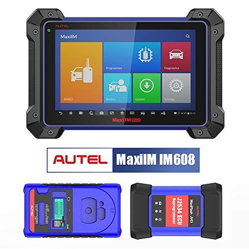 Autel MaxiIM IM608 Herramienta de Programación Llaves y Diagnosis OBD2 Bluetooth con Dispositivo XP400 Programador de Llaves de Seguridad y Reprogramación de ECU J2534