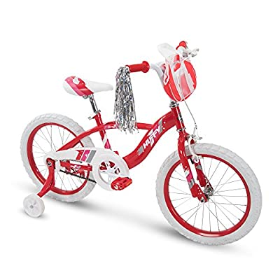 "Huffy 18"" Glimmer Girls Bike, Cherry Red"