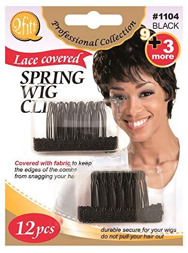 Bonnets pour perruque marron (lot de 2)