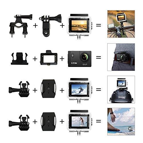 VTIN Action Kamera WIFI VTIN Full HD 1080P Sport Action Camera Cam Wasserdicht - 6