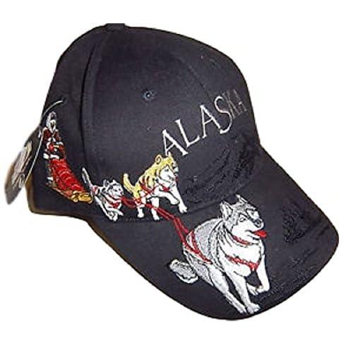 Alaska Husky Dog Team Sled Dog Detailed Ball Cap Hat 3d55bae8c0b0