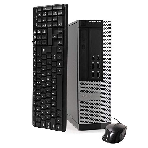 Dell OptiPlex 9020-SFF, Intel Core i5-4570 3.2GHZ, 16GB RAM, 500GB Hard Drive, DVDRW, Windows 10 Pro 64bit (Renewed)