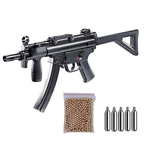 Subfusil Perdigón HK MP5 K-PDW escopeta balines 4,5mm. + balines + bombonas co2. 38123/29318