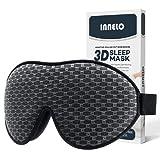 INNELO Sleep Mask, 2021 Comfortable Light Blocking Eye Mask for Men Women, 3D Contoured Cup Sleeping Mask No Pressure Soft Eye Masks Covers for Sleeping Blindfold for Travel Nap Insomnia