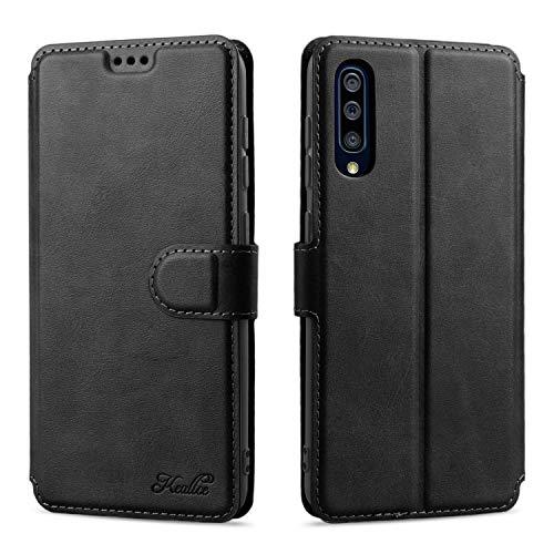Keallce für Samsung Galaxy A50 Hülle, Samsung A50S Handy Lederhülle, Galaxy A30S PU Leder Hülle Brieftasche Handytasche Cover Kompatibel für Samsung Galaxy A50/A50S/A30S Ledertasche-6.4